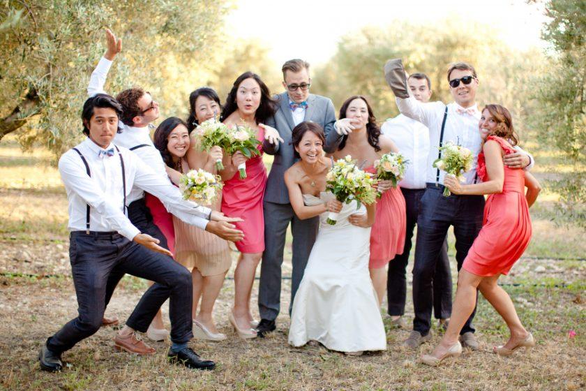 Comment réaliser les photos de groupe durant le mariage ?