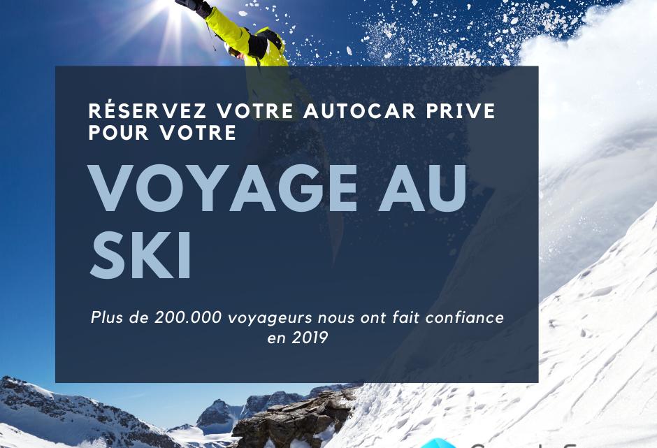 Louer un bus pour un voyage au ski